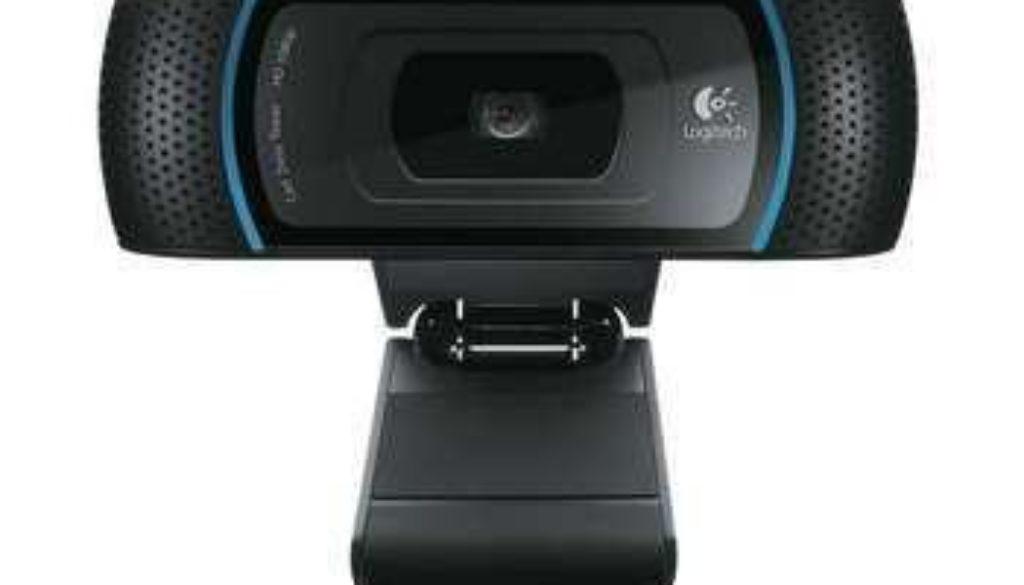 unboxing of the Logitech HD Pro Webcam,