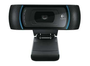 unboxing of the Logitech HD Pro Webcam,