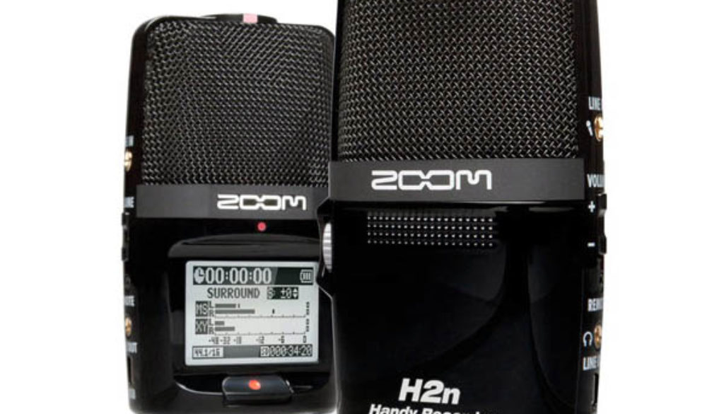 zoom-h2n Handy recorder