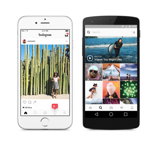 Instagram Gets A Facelift