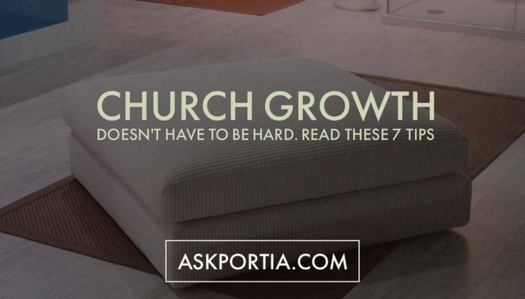 Church Growth 7 Tips