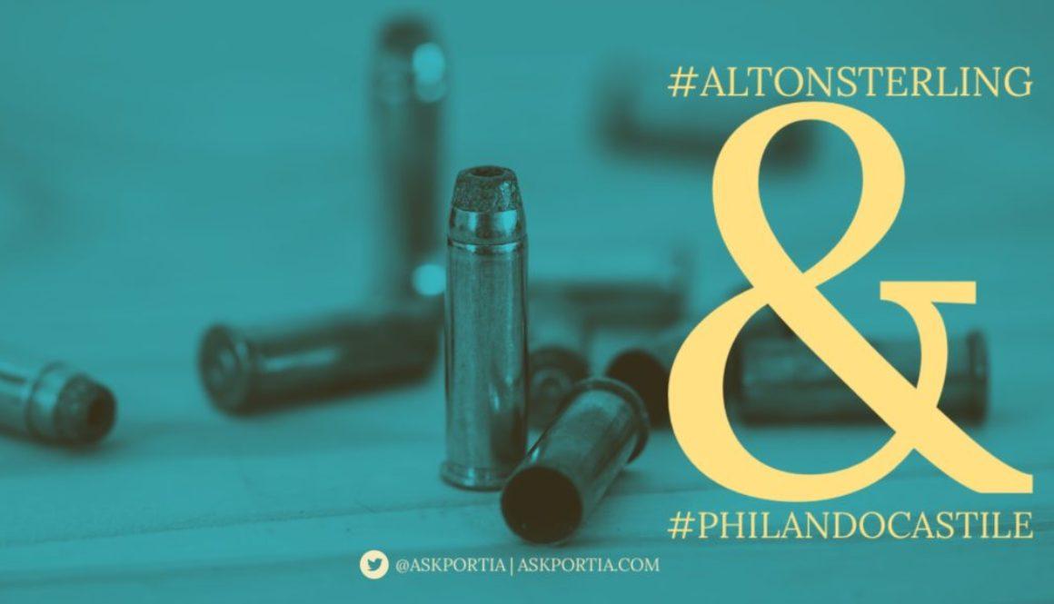 AltonSterling PhilandoCastile