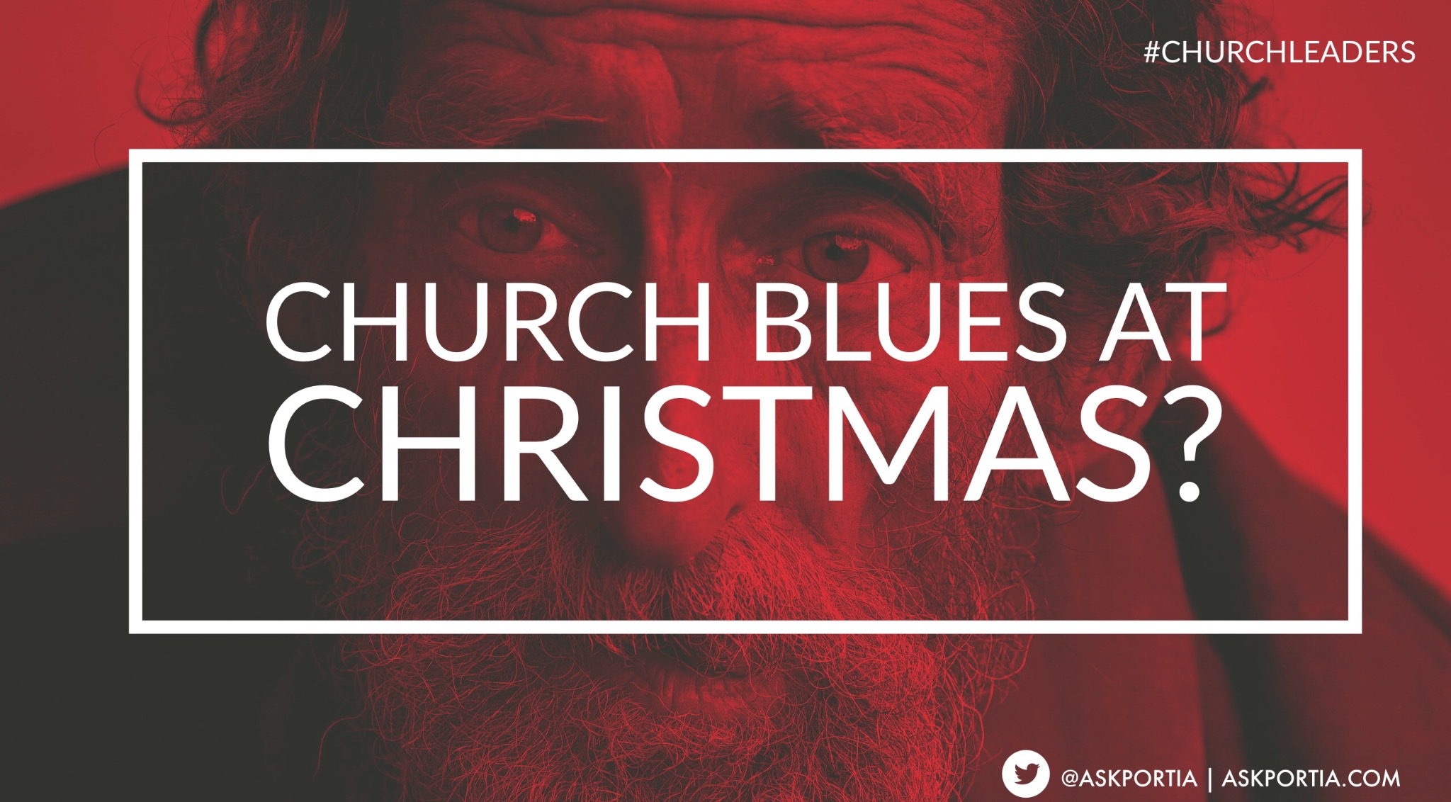 Church Blues During CHRISTMAS?