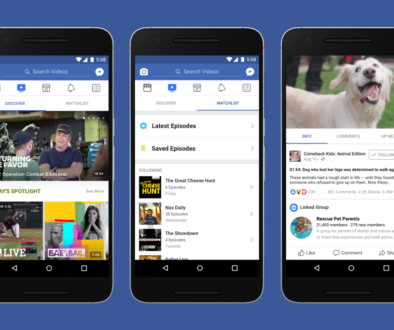 Facebook Introduces Watch a New Platform for watching Shows